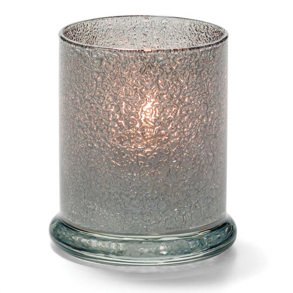 "Hollowick 6147SJ Votive Lamp w/ Cylinder Style for HD15, HD12 & HD8, 3.63x3"", Smoke Jewel"