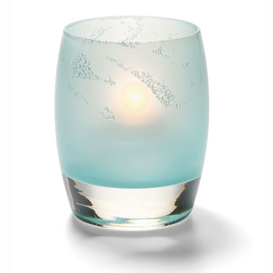 Hollowick 6477SGI Contour Votive, Seafoam