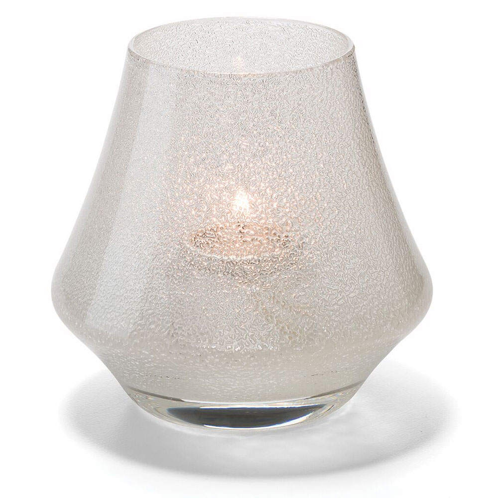 Hollowick 6955CJ Chime Votive Lamp for HD8 or HD15, Clear Jewel