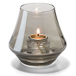 Hollowick 6955S Chime Votive Lamp for HD8 or HD15, Smoke Lustre