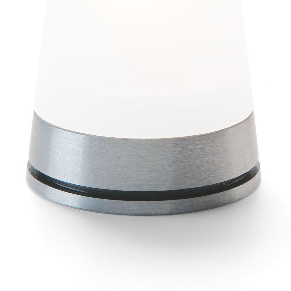 "Hollowick GEM29 Gemini Lamp Base for 71SC Globe. 3.13x1.5"", Brushed Aluminum"