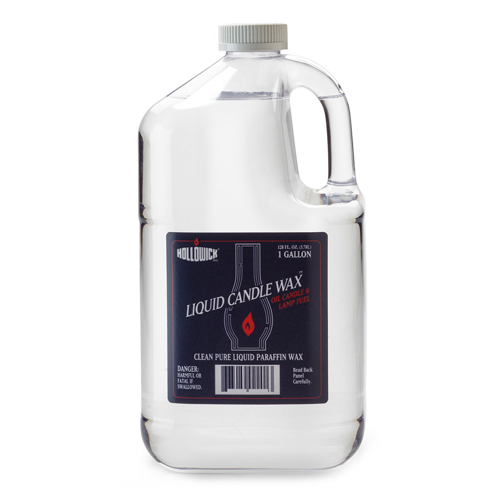 Hollowick HFO-GAL 1-gal Refill Liquid Wax Lamp Fuel w/ 7-hr Burn Time per oz.