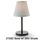 Hollowick 395I Empire Candlestick Shade, 4.5x5.13-in, Fabric, Ivory