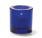 Hollowick 5140CBLJ Tealight Lamp For HD8. 2.75x2.88-in, Glass, Cobalt Blue Jewel