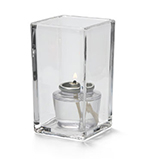 Hollowick 6109C Quad Votive Lamp For HD8 & HD15, 4.38x2.5-in, Clear