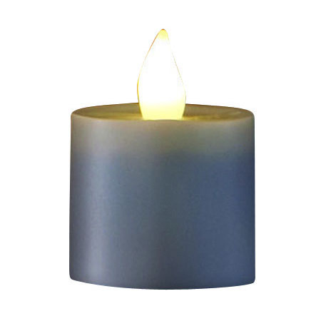 Hollowick SCRP-WW Replacement Platinum Flameless Candle, Warm White