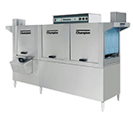 Champion 100HDPW 4803 Conveyor Hi-Temp Dishwasher w/ 2-Tanks & 36-in Prewash, 278-Racks/hr, 480/3V