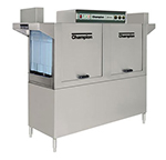 Champion 64 2403 Conveyor Hi-Temp Dishwasher w/ 2-Auto Fill Tanks, 278-Racks/hr, 240/3V