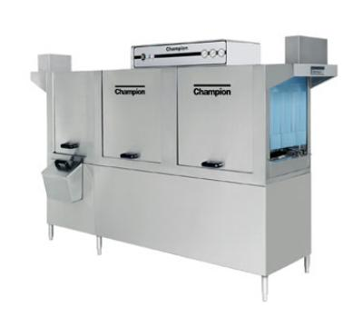 Champion 86-PW 2083 Conveyor Dishwasher w/ 22-in Prewash & 2-Tank, 278-Racks/Hr, 208/3V