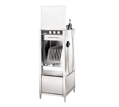 Champion LD-20-S 2083 Pot & Pan Washer w/ 1-Rack & Steam Booster Heater, Front Load, 208/3 V
