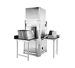 Champion LD-12-CPT-E 2083 Pot & Pan Washer w/ Single Rack & Built-In Booster Heater, Stainless, 208/3 V