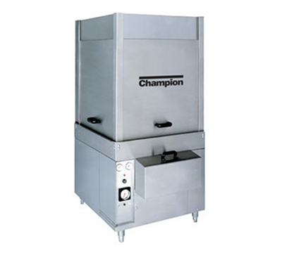 Champion PP-28 2083 Pot & Pan Washer, Rack-Type w/ Auto-Fill & 25-Rack in 60-min, 208/3 V