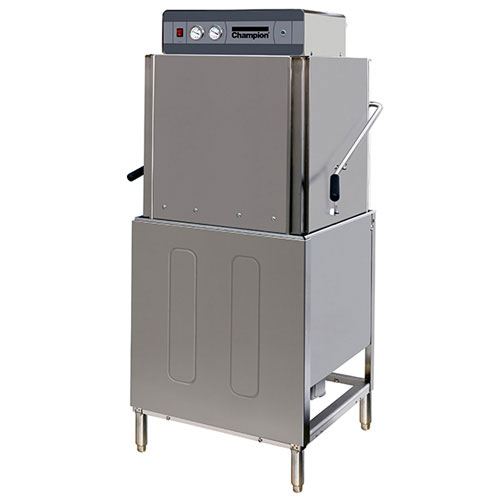 Champion DH-2000 2401 Door Type Dishwasher w/ Booster & Pump, 55-Racks/Hr, 240/1 V