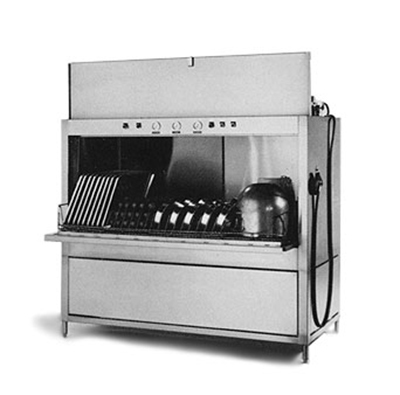 Champion SD-36-S 2083 Rack-Type Pot & Pan Washer w/ Steam Booster Heater, 15-hp Pump Motor, 208/3 V