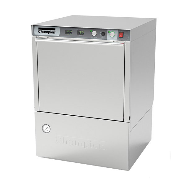 Champion UH-230B(70) Undercounter Dishwasher w/ High Temperature, 40-Racks/Hr, 208v