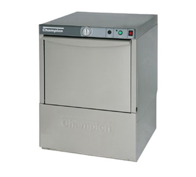 Champion UL-130 Low Temp Rack Undercounter Dishwasher - (21) Racks/hr, 115v