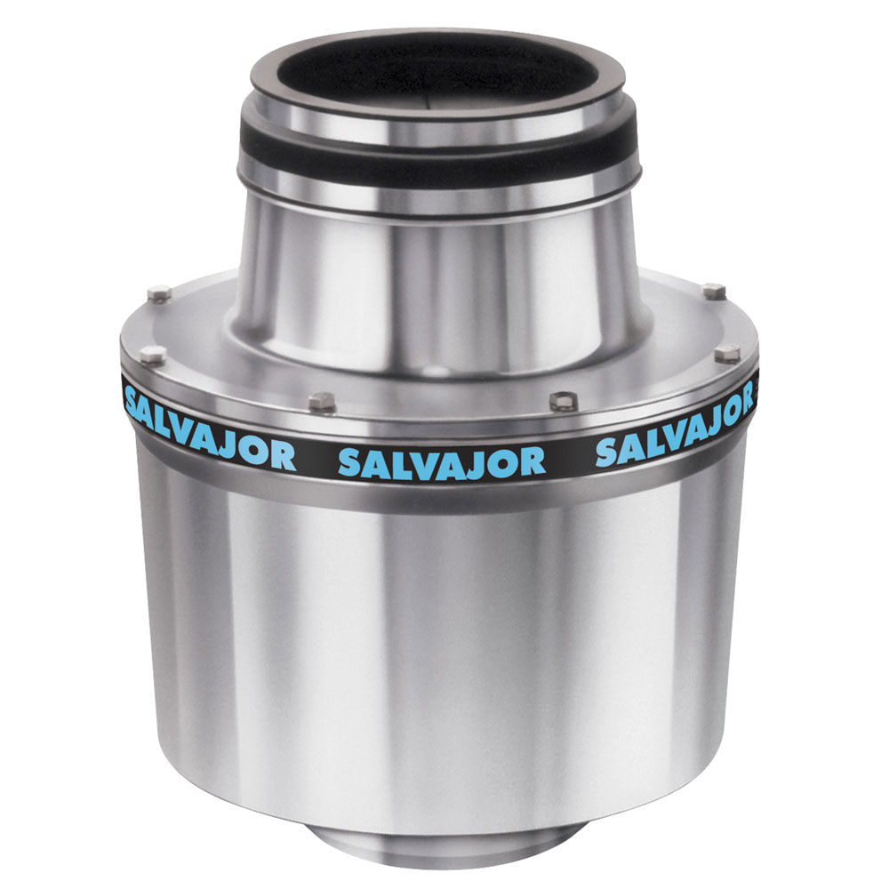 Salvajor 100 Disposer, Basic Unit Only, 1 HP Motor, 208/3 V