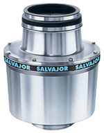 Salvajor 10-0SA-MRSS2301 Disposer w/ Sink Trough Mount, Manual Switch, Aluminum Housings