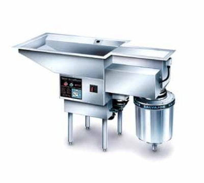 Salvajor 300-PSM 2303 Pot/Pan ScrapMaster, Scrapping, Pre-Flushing & Disposer, 3 HP, 230/3 V