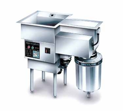 Salvajor 300-SM 2083 ScrapMaster, Scrapping, Pre-Flushing & Disposer, 3 HP, 208/3 V