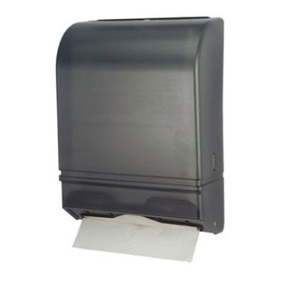 Dispense-rite MFTD1 Towel Dispenser, Multi-Fold, Double Latch Lock, Heavy Gauge Metal, Black