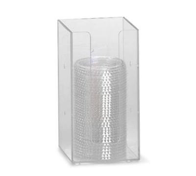 "Dispense-rite MLD1 Lid/Cup Organizer, 4"" Modular, Acrylic, Clear"