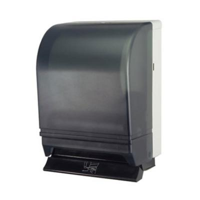 Dispense-Rite PLRT1 Roll Towel Dispenser, ADA Compliant Push Lever, 8 in Roll, Black