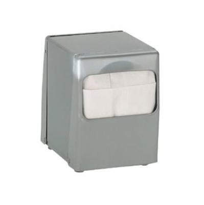 Dispense-rite TTLOWBS Napkin Dispenser, Low Fold 4-7/8 x 3-1/2 in, 2 Sided, Brushed Satin Steel