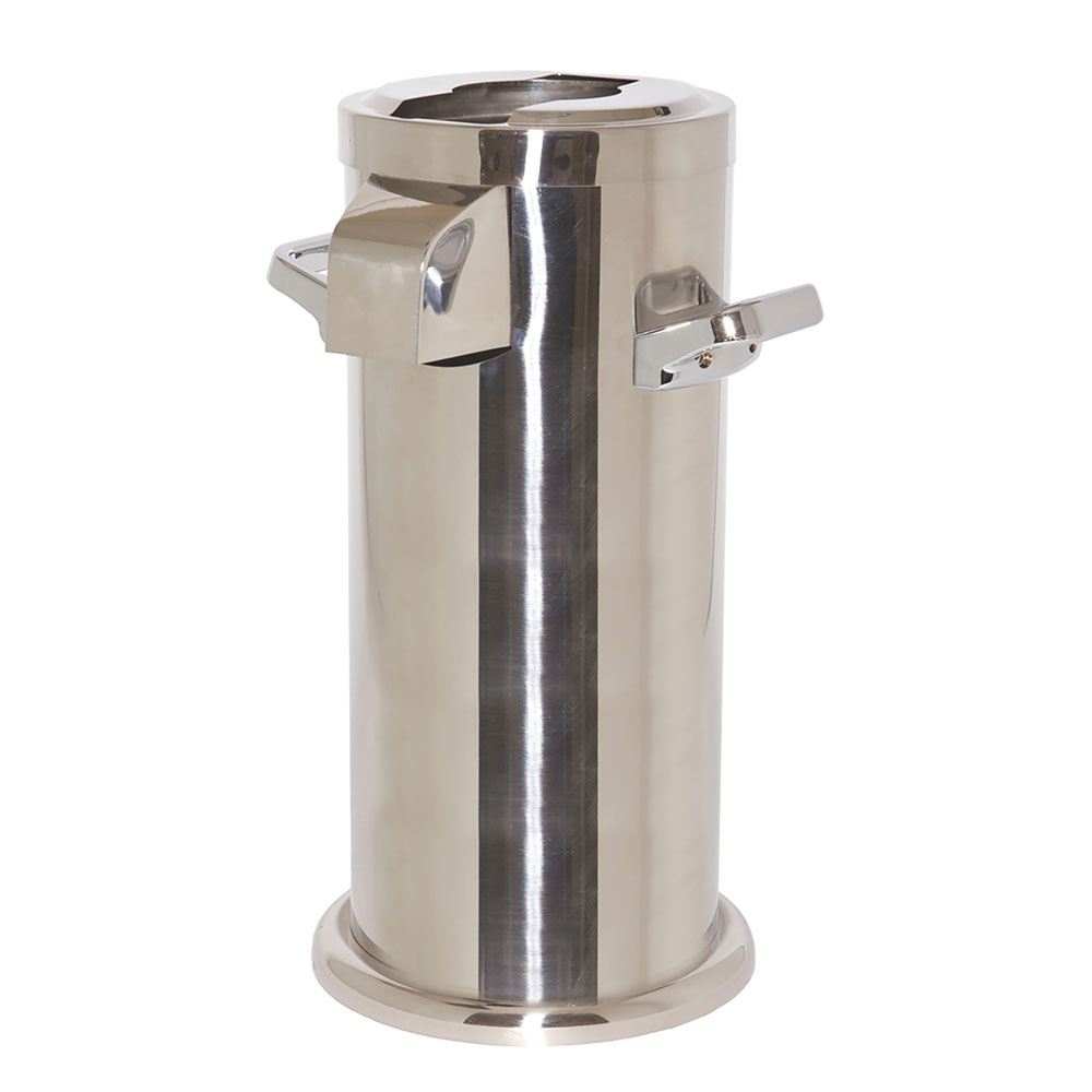 "Service Ideas APC716PS Airpot Cover-Up - 7x16"", Polished Stainless"