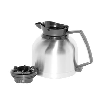 Service Ideas BNP19V2 1.9-liter Coffee Server w/ Regular Lid - Retains Heat 4 to 6-hrs, Stainless