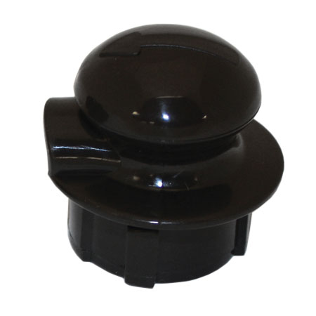 Service Ideas CGSTOP2 Stopper Lid For Classic Glass Carafe, Brown