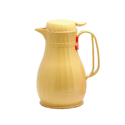 Service Ideas ECO6BSC .6-liter Server w/ Push Button Lid, Styrenic Resin, Butterscotch