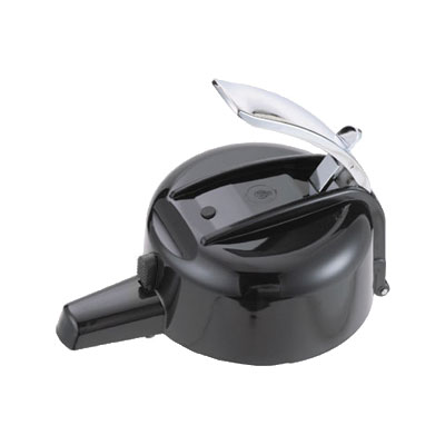 Service Ideas ELLBL Lever Replacement Lid, for Eco-Air & SECA-Air, Black