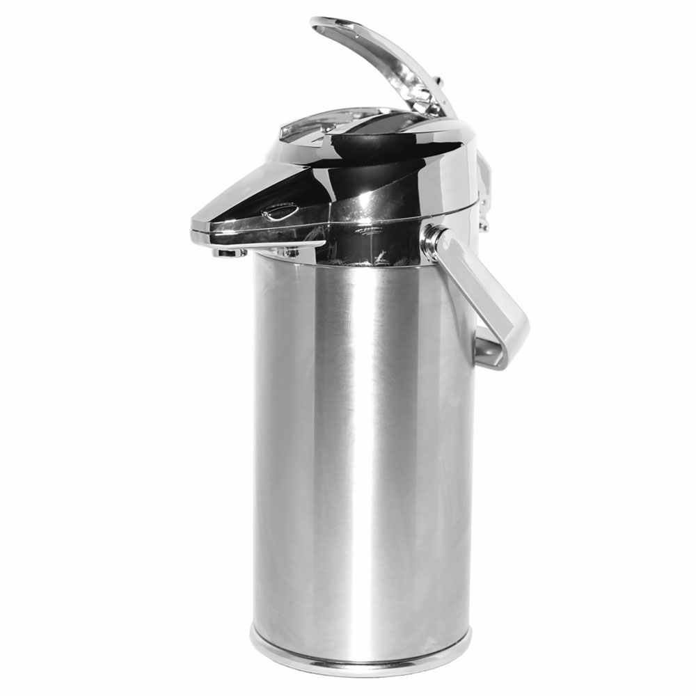 Service Ideas ENALG22CH 2.2 Liter Lever-Action Airpot, Glass Liner