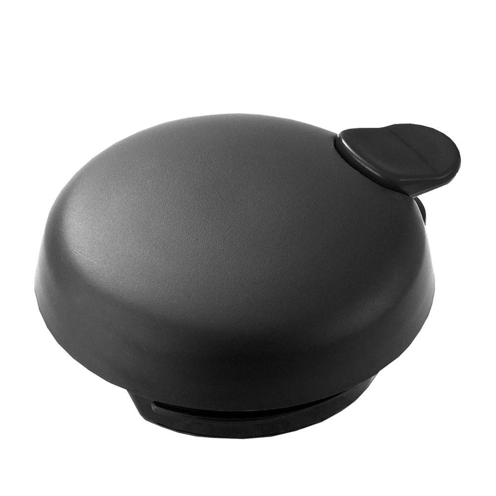 Service Ideas FVPL Vacuum Server Lid w/ Push Button For FVP, Black