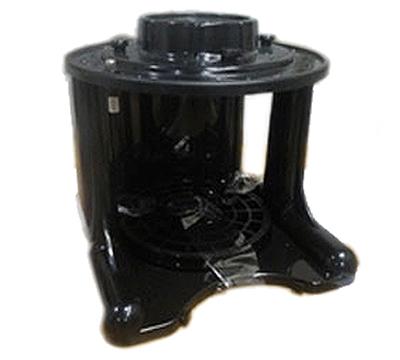 Service Ideas GIUPOSTDBLK GIU Stand, Open, Black ABS Plastic