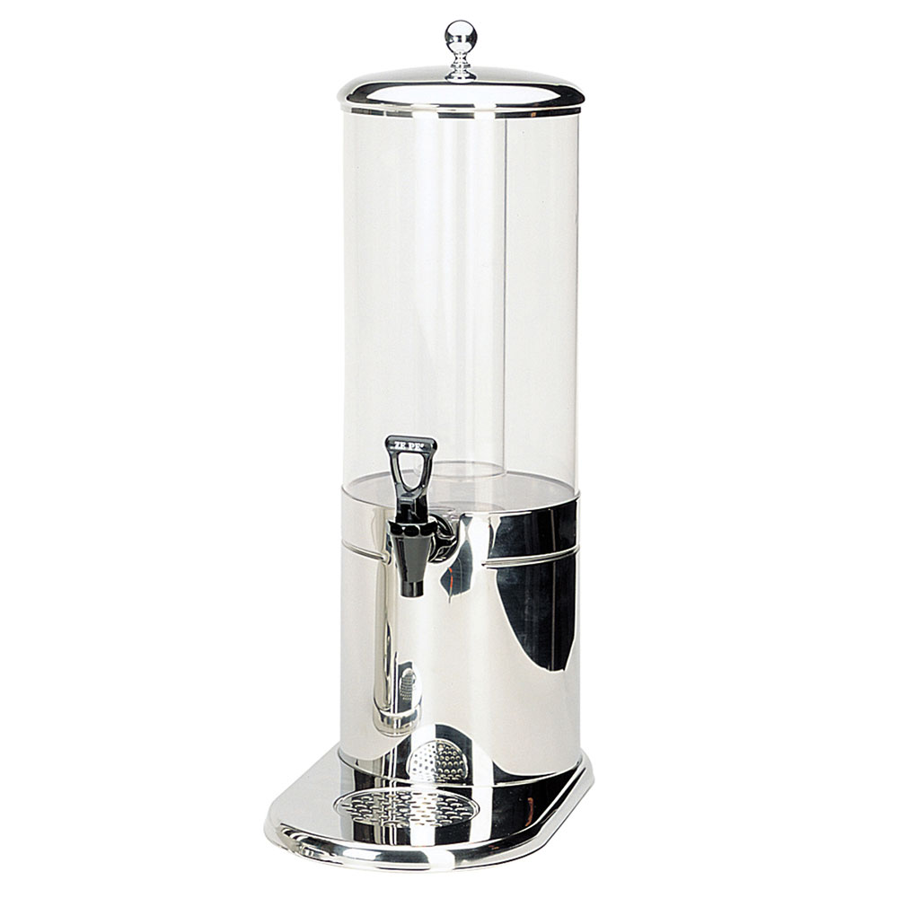 Service Ideas GSP1S7 7-liter Juice Dispenser w/ Polycarbonate Container, Stainless Base