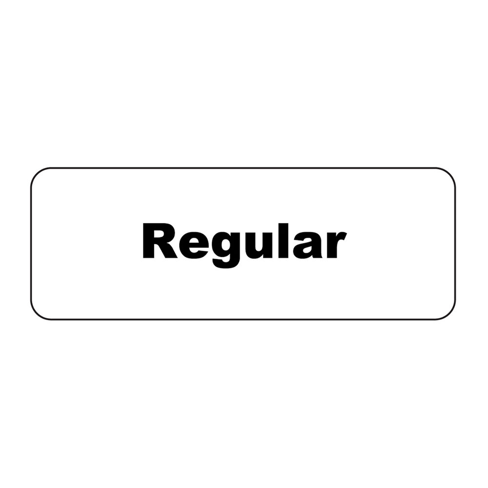 "Service Ideas MT1RE ID Magnet Tag, 1.25 x 3.5"", Regular"