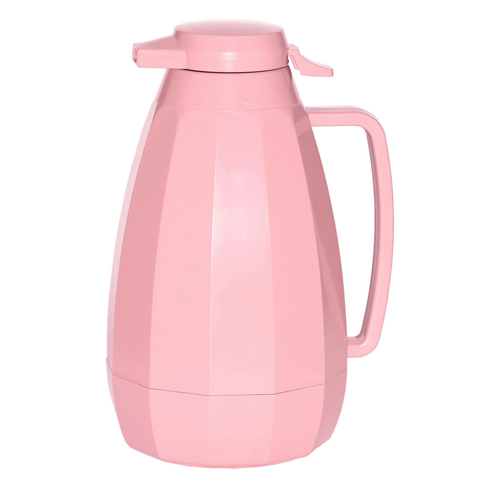 Service Ideas NG421MV 2-liter Coffee Server w/ Push Button Lid, Mauve