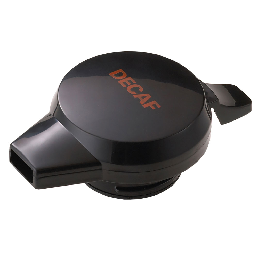 Service Ideas NGLBLD Decaf Push Button Lid For NG501, 101, 315 & 421 Servers, Black