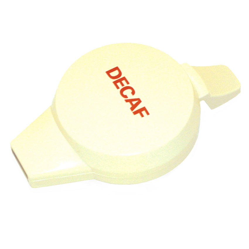Service Ideas NGLWALD Welded Decaf Push Button Lid For 501, 101 & 421 Servers, Almond