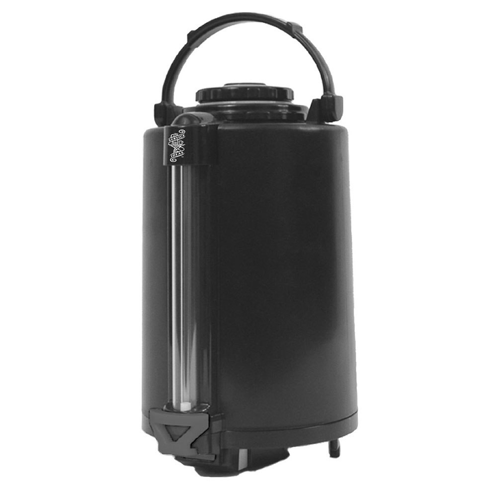 Service Ideas PNWA250 2.5-liter Glass-Lined Airpot w/ Sight Glass, Plastic Exterior
