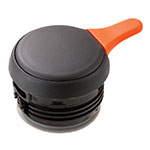 Service Ideas PWLBLD Decaf Push Button Lid For PWL Carafes, Orange Trigger