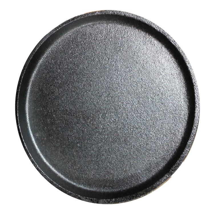 "Service Ideas RP18 9.25"" Cast Iron Skillet, Round"