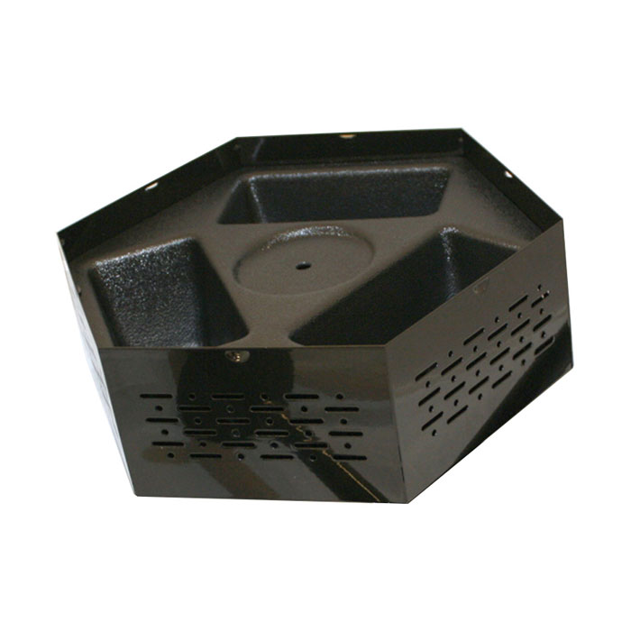 Service Ideas RRPCH Condiment Holder For Roto Rack, Black Plastic
