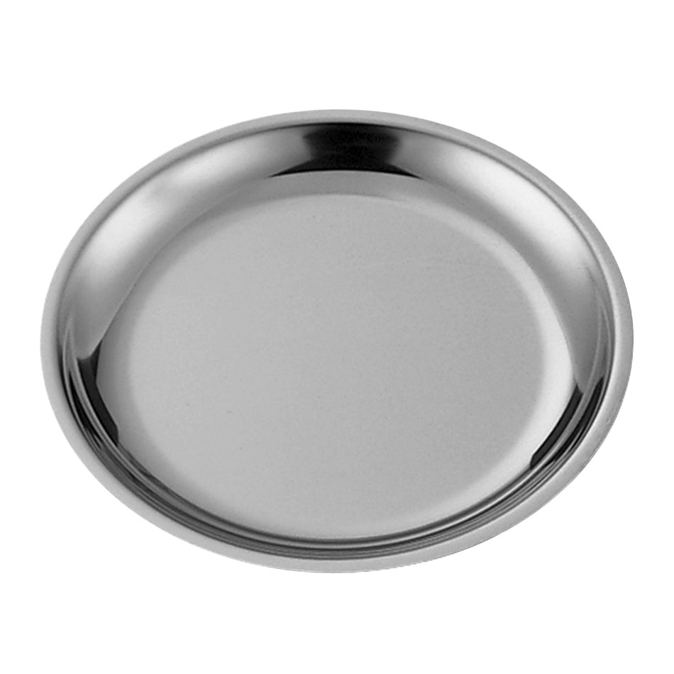 "Service Ideas RT1025SS 10.25"" Round Platter Insert for RT1025 Platters, Stainless"