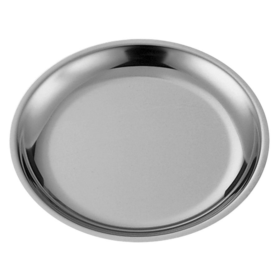"Service Ideas RT7SS 7"" Round Platter Insert for RT7 Platters, Stainless"
