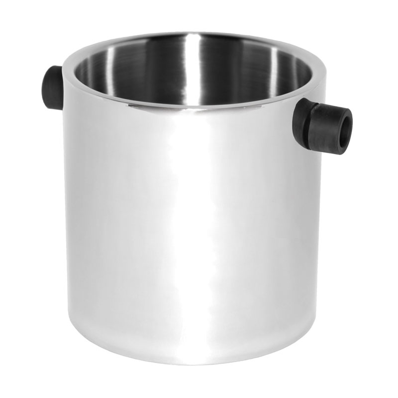 "Service Ideas SB-3 2.4-qt Champagne Bucket w/ 7 x 7"" Base, Stainless, Brushed Finish"