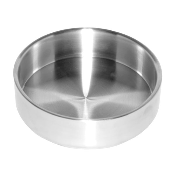 """Service Ideas SB-45 2.3-qt Serving Bowl w/ Double Wall Insulation, 7 x 2.3"""", Brushed Finish"""