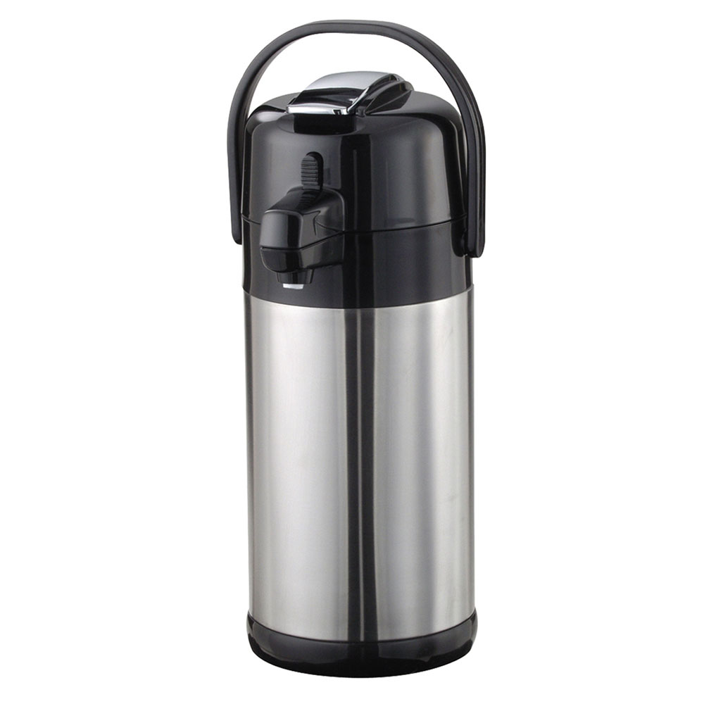 Service Ideas SECAL30SS 3-liter Lever-Action Airpot - Stainless Liner, Stainless